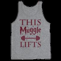 This Muggle Lifts Tank