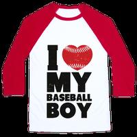 I Love My Baseball Boy Baseball