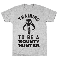 Training To Be A Bounty Hunter Tee