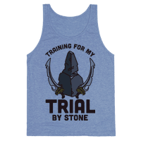 Training For My Trial By Stone Tank