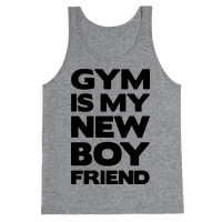 Gym Is My New Boyfriend (black font)