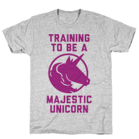 Training to Be A Majestic Unicorn