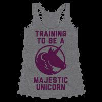 Training to Be A Majestic Unicorn