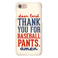 Dear Lord, Thank You for Baseball Pants