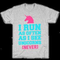 I Workout as Often as I See Unicorns