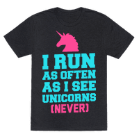 I Workout as Often as I See Unicorns