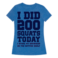 I Did 200 Squats Today Brownies