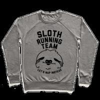 Sloth Running Team Pullover