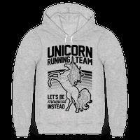 Unicorn Running Team Hoodie
