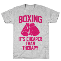 Boxing It's Cheaper Than Therapy