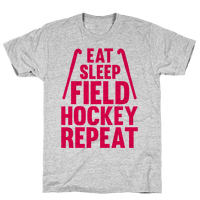 Eat Sleep Field Hockey Repeat