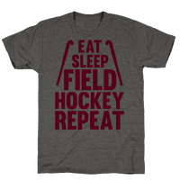 Eat Sleep Field Hockey Repeat