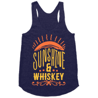 Sunshine and Whiskey Racerback