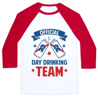 Official Day Drinking Team Baseball