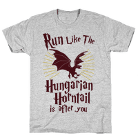 Run Like The Hungarian Horntail Is After You