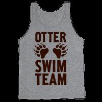 Otter Swim Team Tank