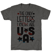 The Only Letters Are USA