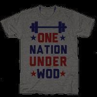 One Nation Under WOD Tee