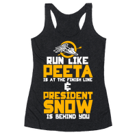 Run Like Peeta Is At The Finish Line