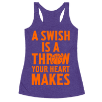 A Swish Is A Throw Your Heart Makes