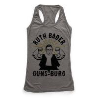 bfbf26fe4b Ruth Bader Guns-Burg Racerback Tank | Activate Apparel