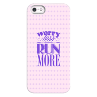 Worry Less Run More Case