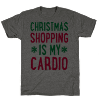 Christmas Shopping Is My Cardio