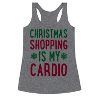Christmas Shopping Is My Cardio