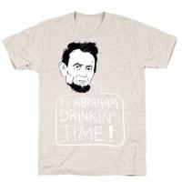 d26e8e1c39710 It s Abraham Drinkin Time Hoodie