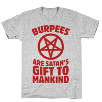 Burpees Are Satan's Gift To Mankind