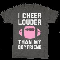I Cheer Louder Than My Boyfriend