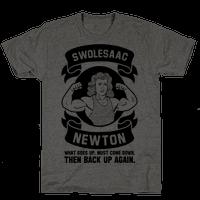 Swolesaac Newton