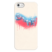 Watercolor Rushmore Phonecase