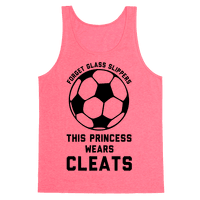 Forget Glass Slippers This Princess Wears Cleats Tank