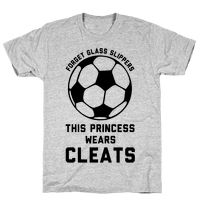 Forget Glass Slippers This Princess Wears Cleats