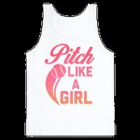 Pitch Like a Girl Tank