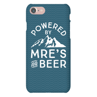 Powered By MREs And Beer Phonecase