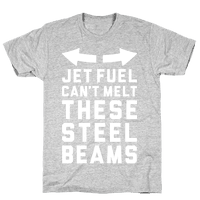 Jet Fuel Can't Make These Steel Beams