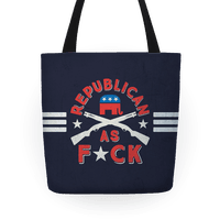 Republican As F*ck Tote