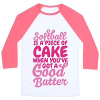 Softball Is a Piece of Cake Baseball