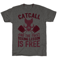 Catcall And The First Boxing Lesson Is Free