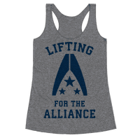 Lifting For The Alliance Racerback