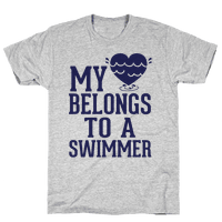 My Heart Belongs To A Swimmer