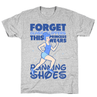 This Princess Wears Running Shoes (Dark Print)