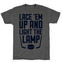 Lace 'Em Up And Light The Lamp