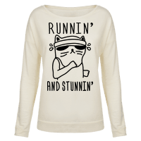 Runnin' And Stunnin' Cat Pullover