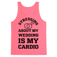 Stressing About My Wedding Is My Cardio