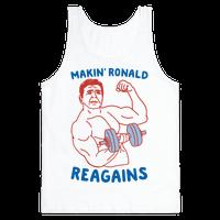 Makin' Ronald Reagains Tank