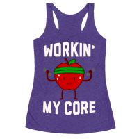 Workin' My Core Racerback