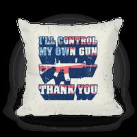 I'll Control My Own Gun